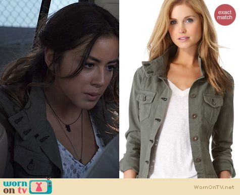 Agents of SHIELD Fashion: Rag & Bone Chamberlain Jacket worn by Chloe Bennett