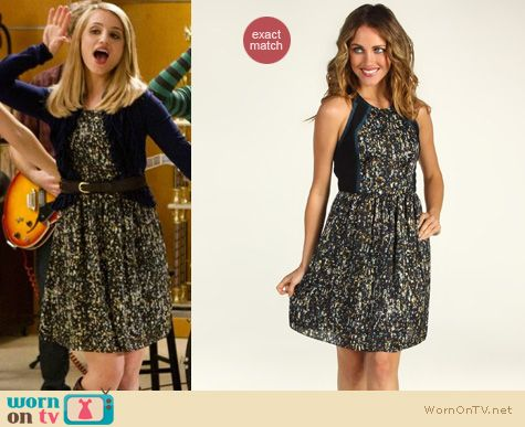 Glee Fashion: Rebecca Taylor sequin dress worn by Dianna Agron