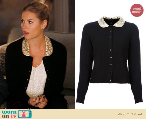 Marc Jacobs Mika cardigan on Happy Endings worn by Elisha Cuthbert