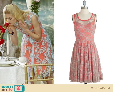 Hart of Dixie Fashion: Nanette Lepore Varsity Lace dress worn by Jaime King