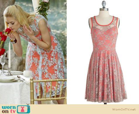 Hart of Dixie Fashion: Nanette Lepore Varsity Lace dress worn by Jaime King