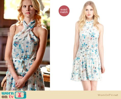 Hart of Dixie Fashion: Rachel Roy twist dress worn by Claudia Lee