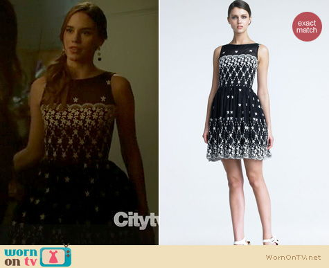 Revenge Fashion: Embroidered RED Valentino dress worn by Christa Allen