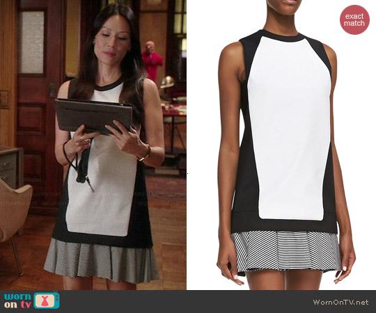 Lucy Liu elementary dress