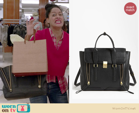 3.1 Phillip Lim Pashli Leather Satchel worn by Tracee Ellis Ross on Black-ish