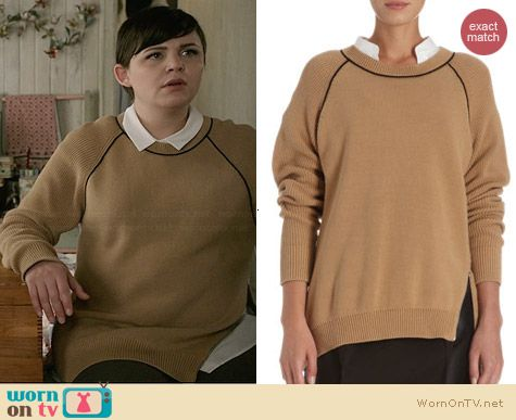 3.1 Phillip Lim Raglan Sweater worn by Ginnifer Goodwin on OUAT