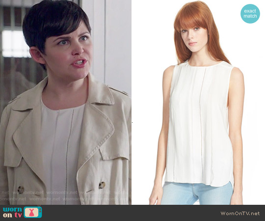 3.1 Phillip Lim Fringe Detail Shell worn by Ginnifer Goodwin on OUAT