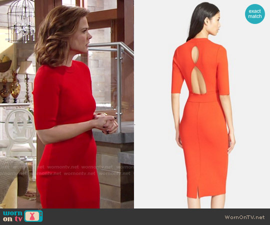 ALC Scoppa Dress worn by Gina Tognoni on The Young & the Restless