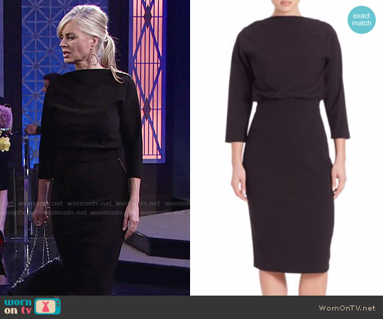 Badgley Mischka Dolman Dress worn by Eileen Davidson on The Young & the Restless