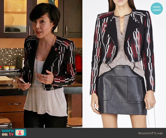 Bcbgmaxazria Nathan Jacket worn by Yunjin Kim on Mistresses