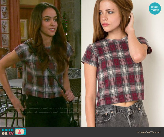 Brandy Melville Sammy Top worn by Victoria Konefal on Days of our Lives