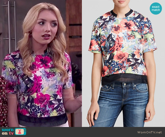 Cooper & Ella Elizabeth Top worn by Peyton List on Jessie