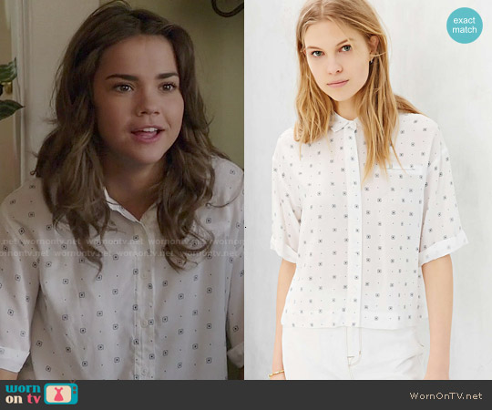 Cooperative Johnny Bowling Shirt worn by Maia Mitchell on The Fosters