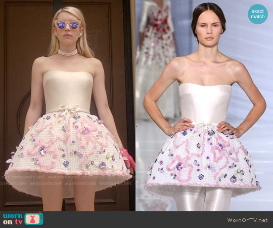 Georges Hobeika - FW 2015 Collection Dress worn by Emma Roberts on Scream Queens
