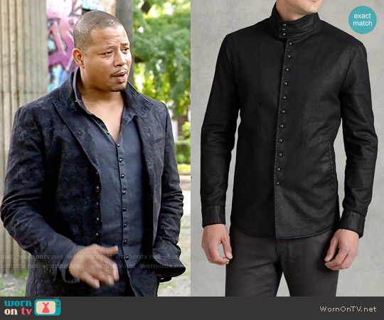John Varvatos Multi-Button Shirt Jacket worn by Lucious Lyon on Empire