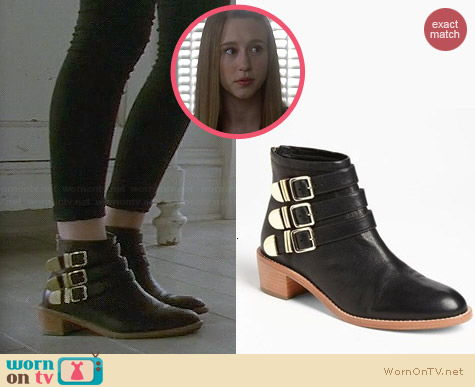 Loeffler Randall Fenton Bootie worn by Taissa Farmiga on AHS Coven