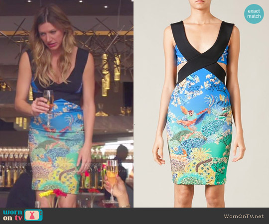 Mary Katrantzou Jazzy Dress worn by Jes Macallan on Mistresses