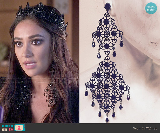 Marianna Harutunian Emily Earrings worn by Emily Fields on PLL