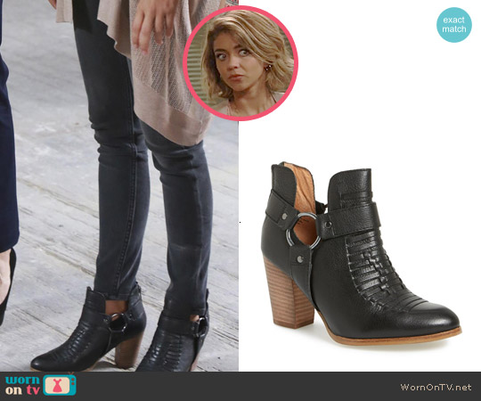 Seychelles 'Impossible' Bootie worn by Sarah Hyland on Modern Family