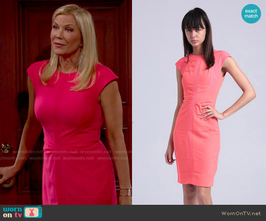 Ted Baker Acerola Dress worn by Katherine Kelly Lang on The Bold & the Beautiful