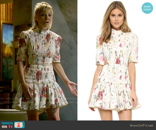 Zimmermann Mischief Corset Laced Dress worn by Kaitlin Doubleday on Empire