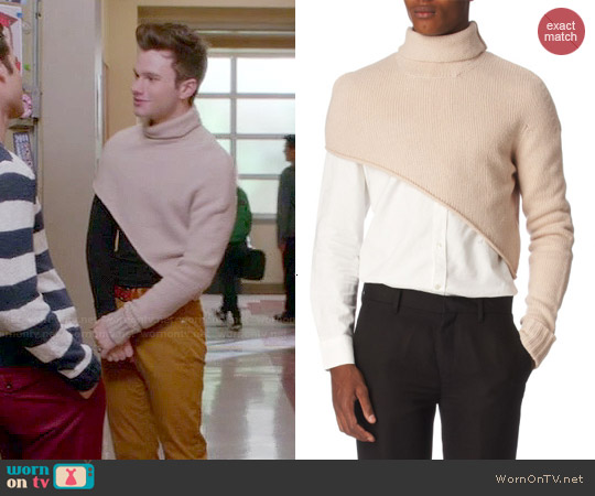worn by Kurt Hummel (Chris Colfer) on Glee