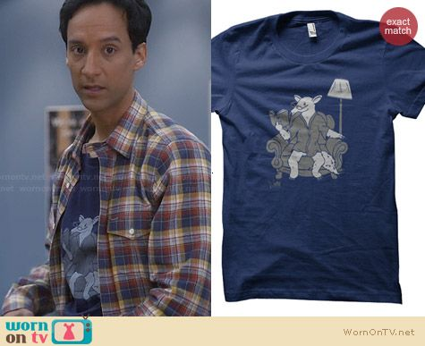 ADHT The Least Interesting Tamandua in the World Shirt worn by Abed Nadir on Community