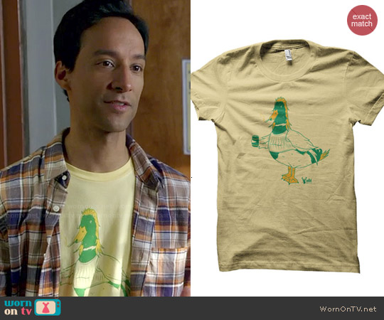 ADHT 'Merica' Tee worn by Danny Pudi on Community