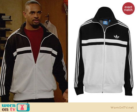 Adidas Originals Icon Track Top worn by Damon Wayans on New Girl