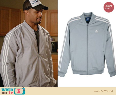 Wornontv Coach S Light Grey Track Jacket On New Girl