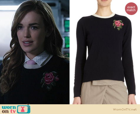 Agents of SHIELD Fashion: Girl. By Band of Outsiders Rose Pullover worn by Elizabeth Henstridge