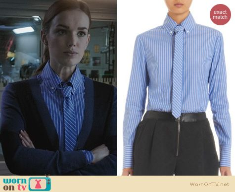Agents of SHIELD Fashion: Marissa Webb Kyle Delancy Shirt worn by Elizabeth Henstridge