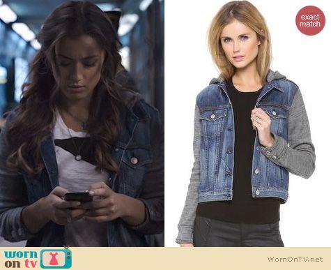 Agents of SHIELD Style: Rag & Bone Bradford Denim Jacket worn by Chloe Bennett