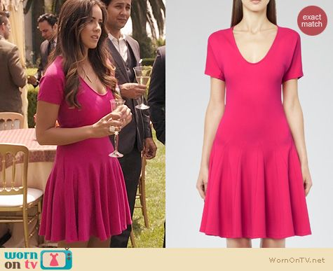 Agents of SHIELD Fashion: Reiss Myrtle Dress worn by Chloe Bennett