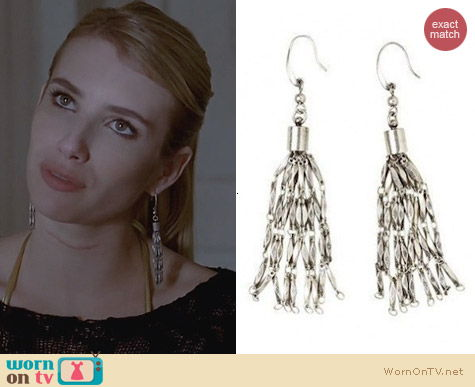 AHS Coven Jewellery: Isabel Marant for H&M Earrings worn by Emma Roberts