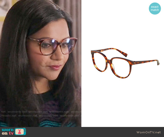 Alain Mikli Glasses Style A03050 worn by Mindy Kaling on The Mindy Project