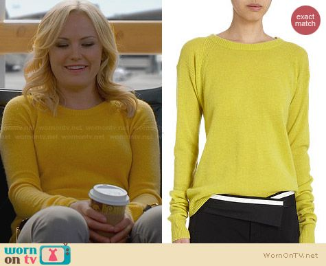 ALC Alana Sweater worn by Malin Akerman on Trophy Wife