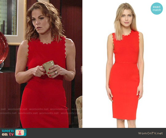 ALC Aldridge Dress worn by Gina Tognoni on The Young & the Restless