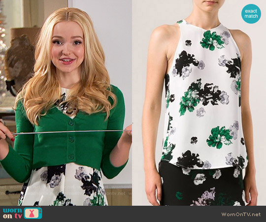 ALC Anise Top worn by Dove Cameron on Liv & Maddie