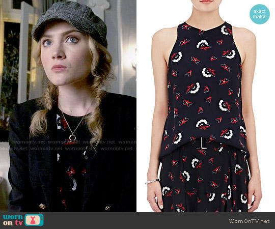worn by Grace Gardner (Skyler Samuels) on Scream Queens