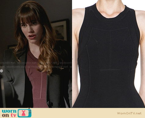 ALC Barrett Dress worn by Christa Allen on Revenge