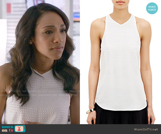 ALC Brenner Top worn by Candice Patton on The Flash