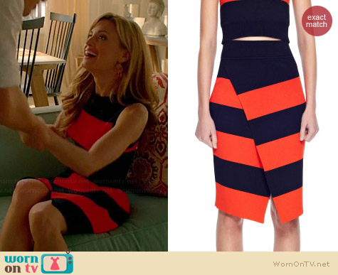 ALC Campbell Skirt worn by Brooke D'Orsay on Royal Pains