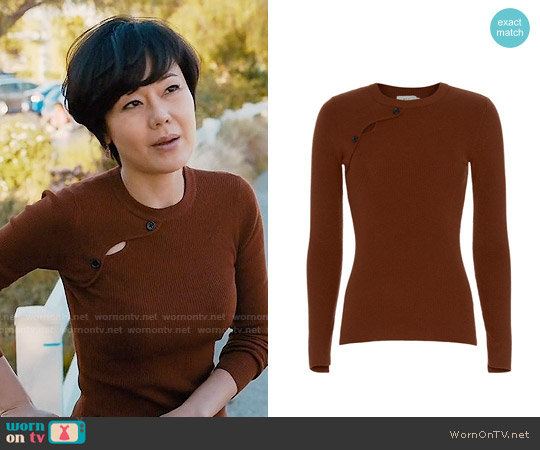 ALC Caplan Sweater worn by Yunjin Kim on Mistresses