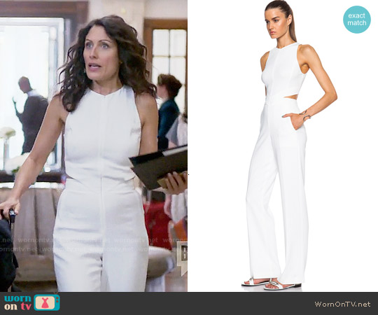 ALC Chandler Jumpsuit worn by Lisa Edelstein on GG2D
