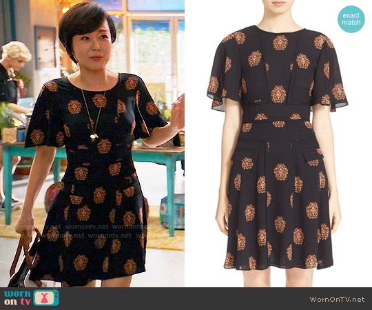 ALC Cooper Dress worn by Yunjin Kim on Mistresses