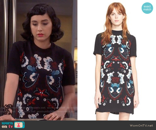 ALC Drake Dress worn by  Molly Ephraim on Last Man Standing