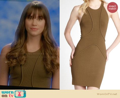 A.L.C. Drielly Dress worn by Christa Allen on Revenge