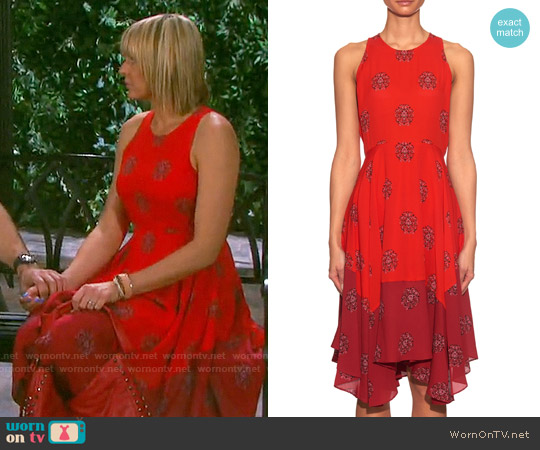 ALC Elisa Dress worn by Arianne Zucker on Days of our Lives