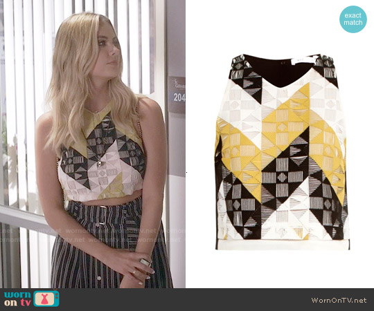 ALC Grace Top worn by Ashley Benson on PLL